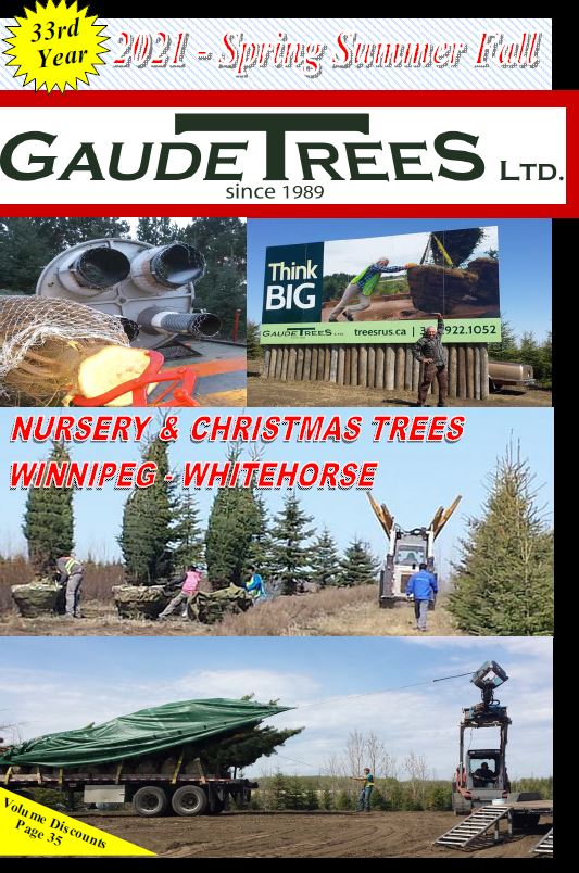 Gaudet Trees catalogue for spring, summer and fall 2020